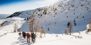 Tourenski und Schneeschuhwanden, Tonnerhütte
